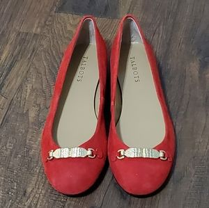 💕SALE💕NWOB TALBOTS red flats size 8.5